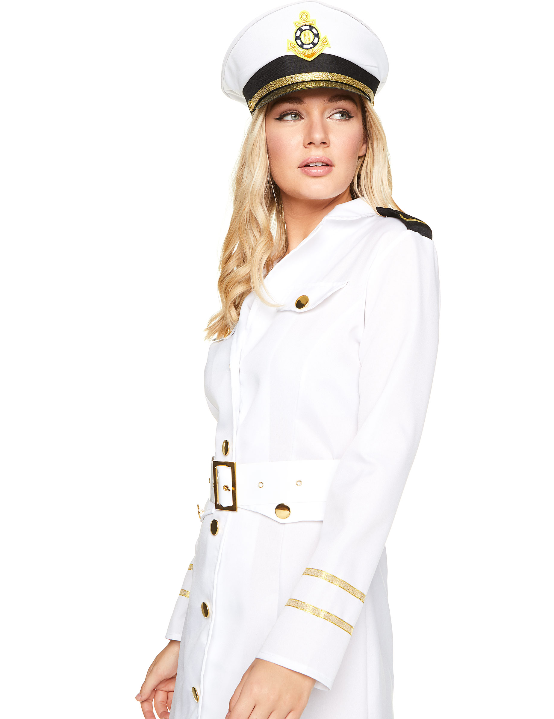 Carnavalskleding Marine Dames.Officiers Kostuum Voor Dames Vegaoo Nl