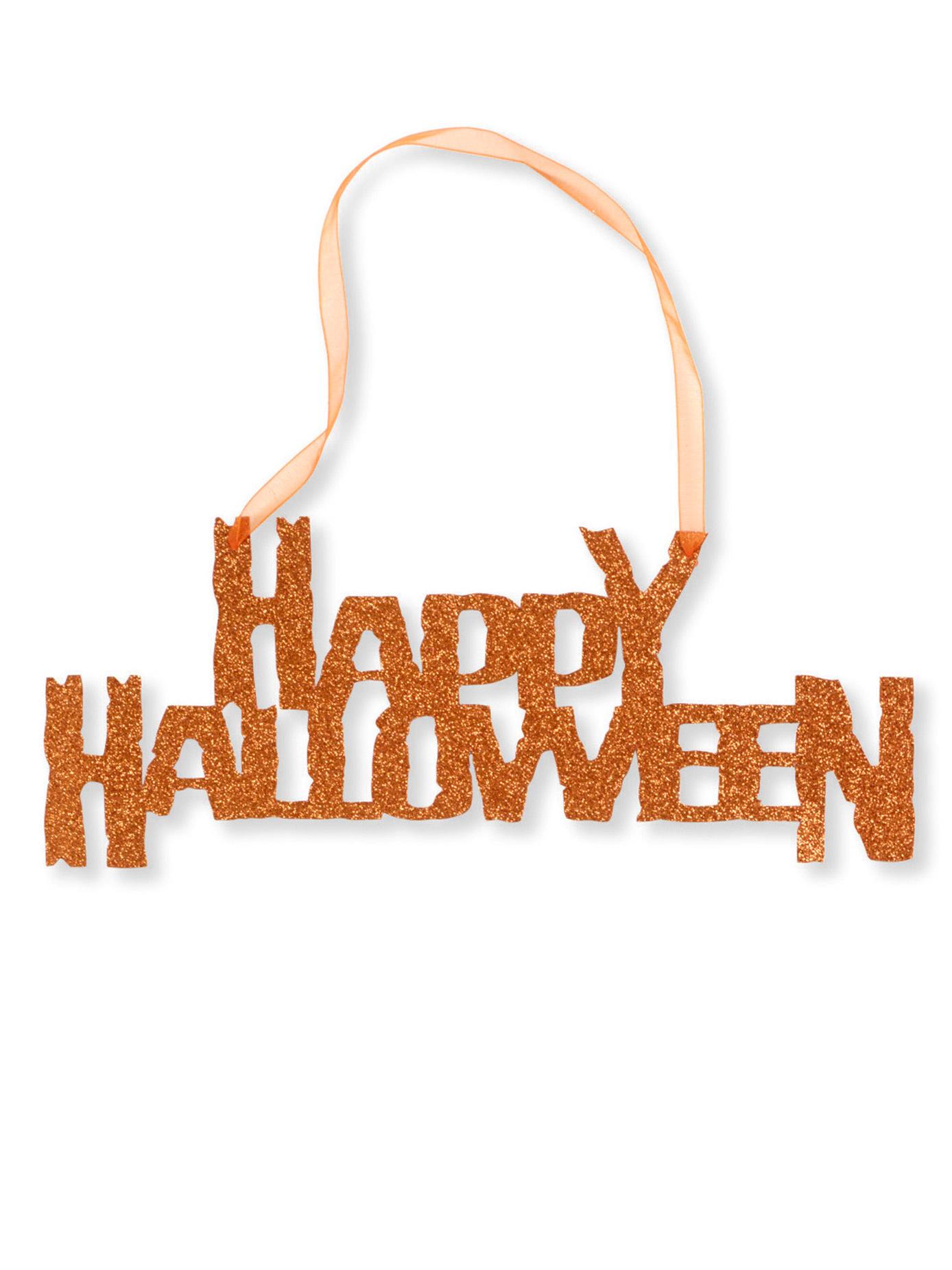 Oranje happy halloween decoratie decoratie en goedkope for Goedkope decoratie