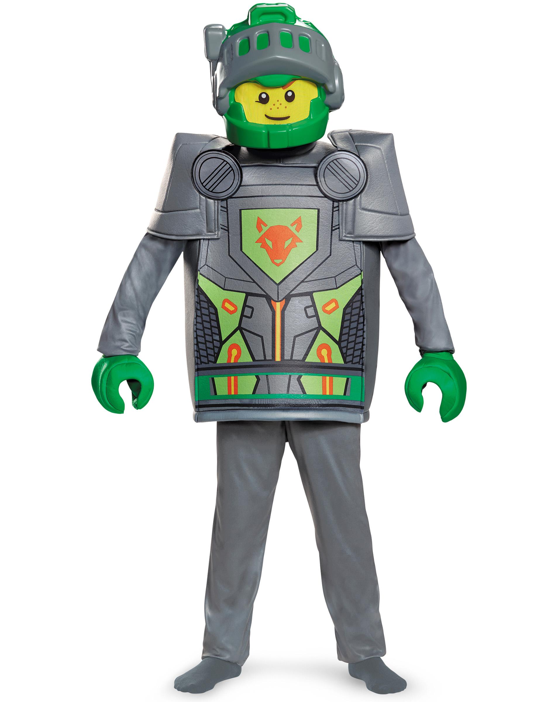 aaron nexo knights lego kostuum voor kinderen