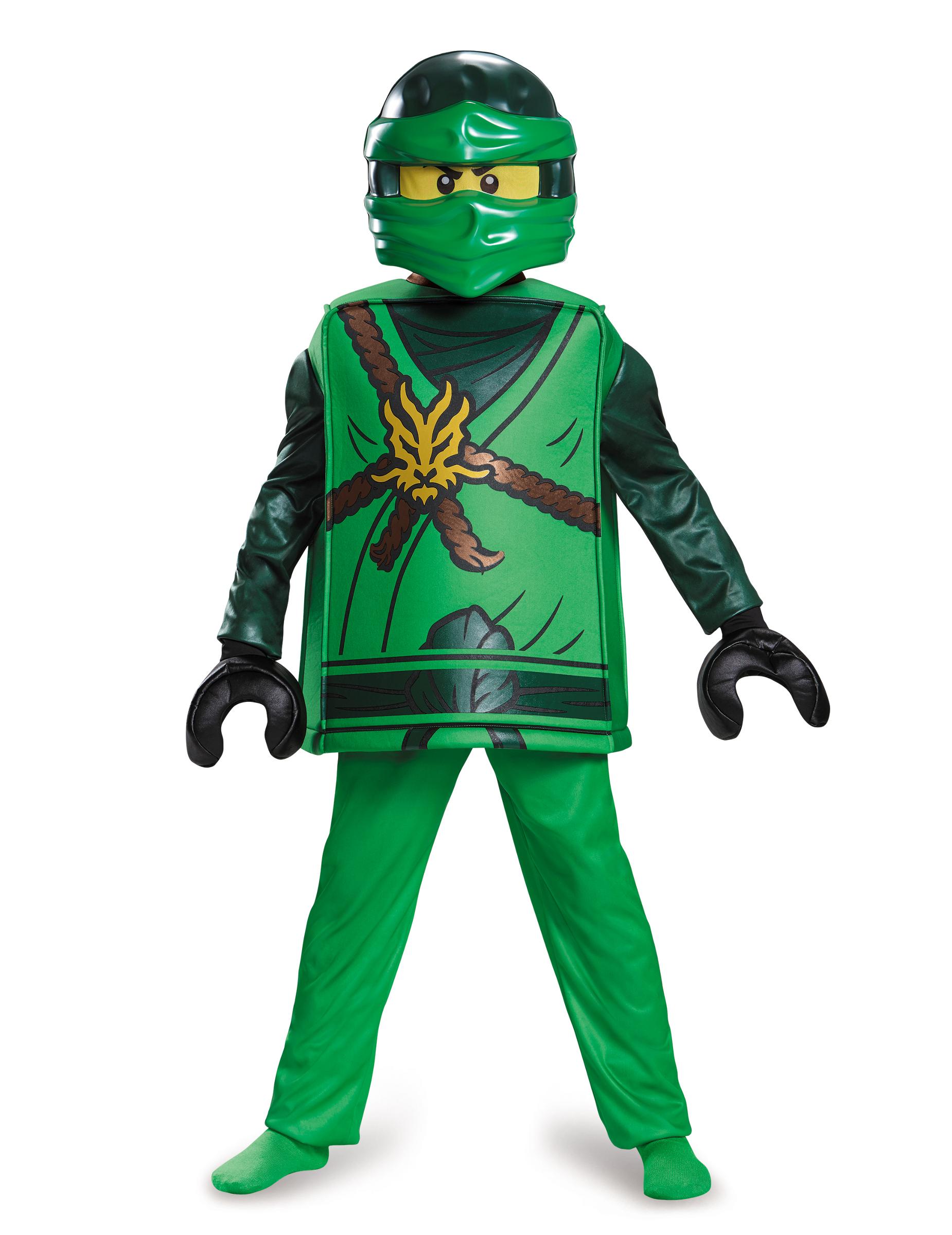Compleet lloyd ninjago lego kostuum voor kinderen - Ninjago lego lloyd ...