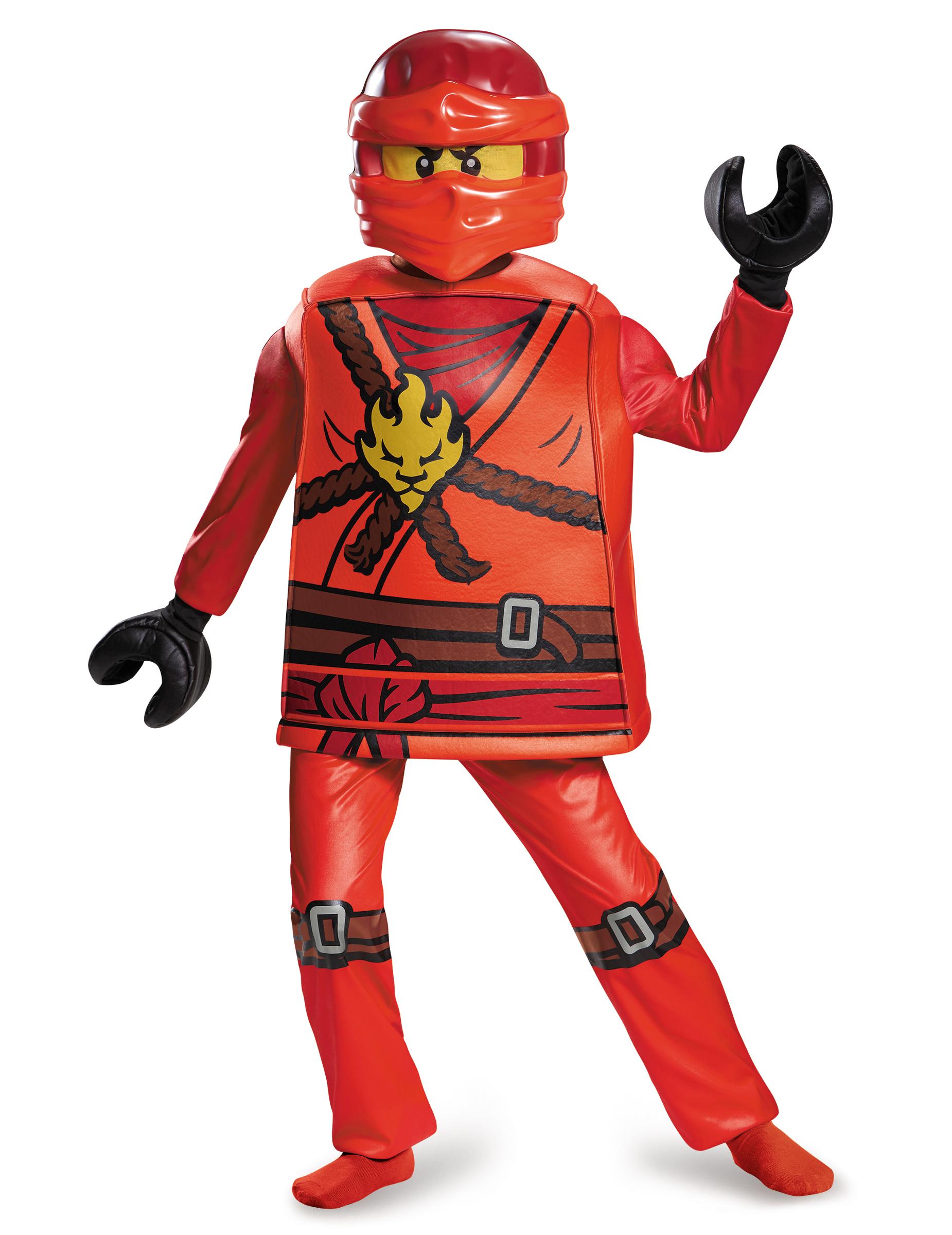 Kai ninjago lego kostuum voor jongens - Ninjago lego kai ...