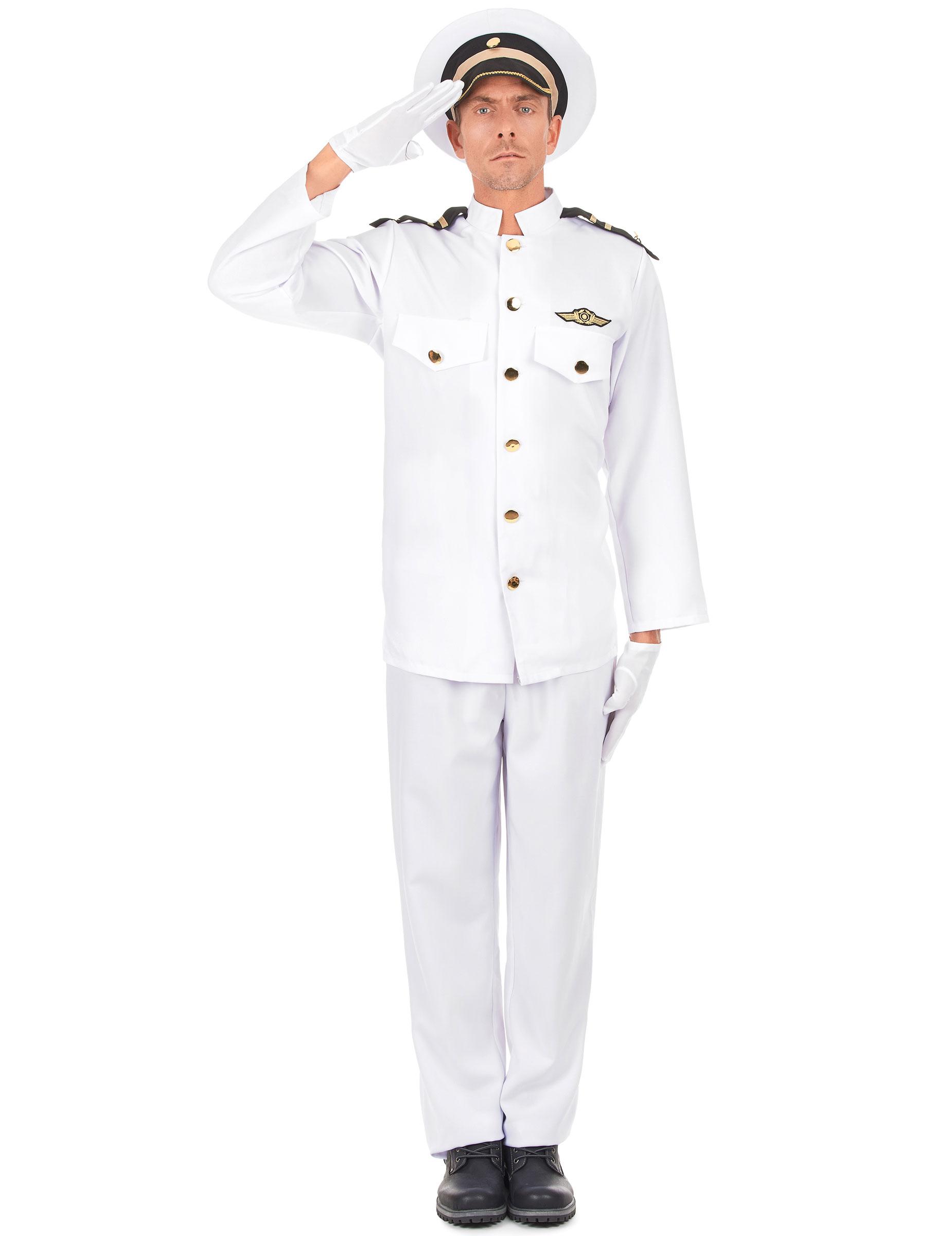Carnavalskleding Marine Dames.Marine Officier Kostuum Voor Volwassenen Volwassenen Kostuums En