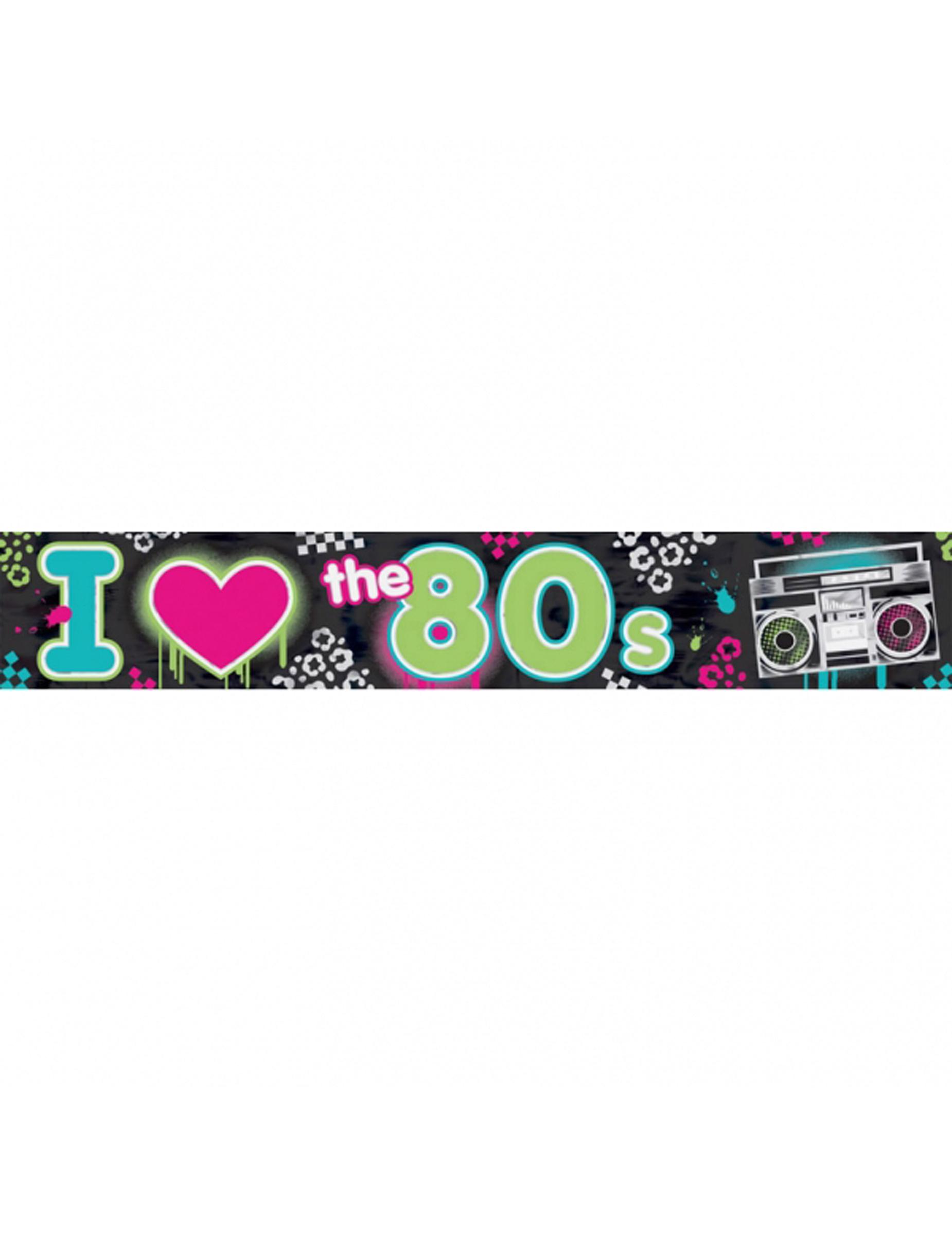 I love the 80 39 s banner for Decoratie jaren 80