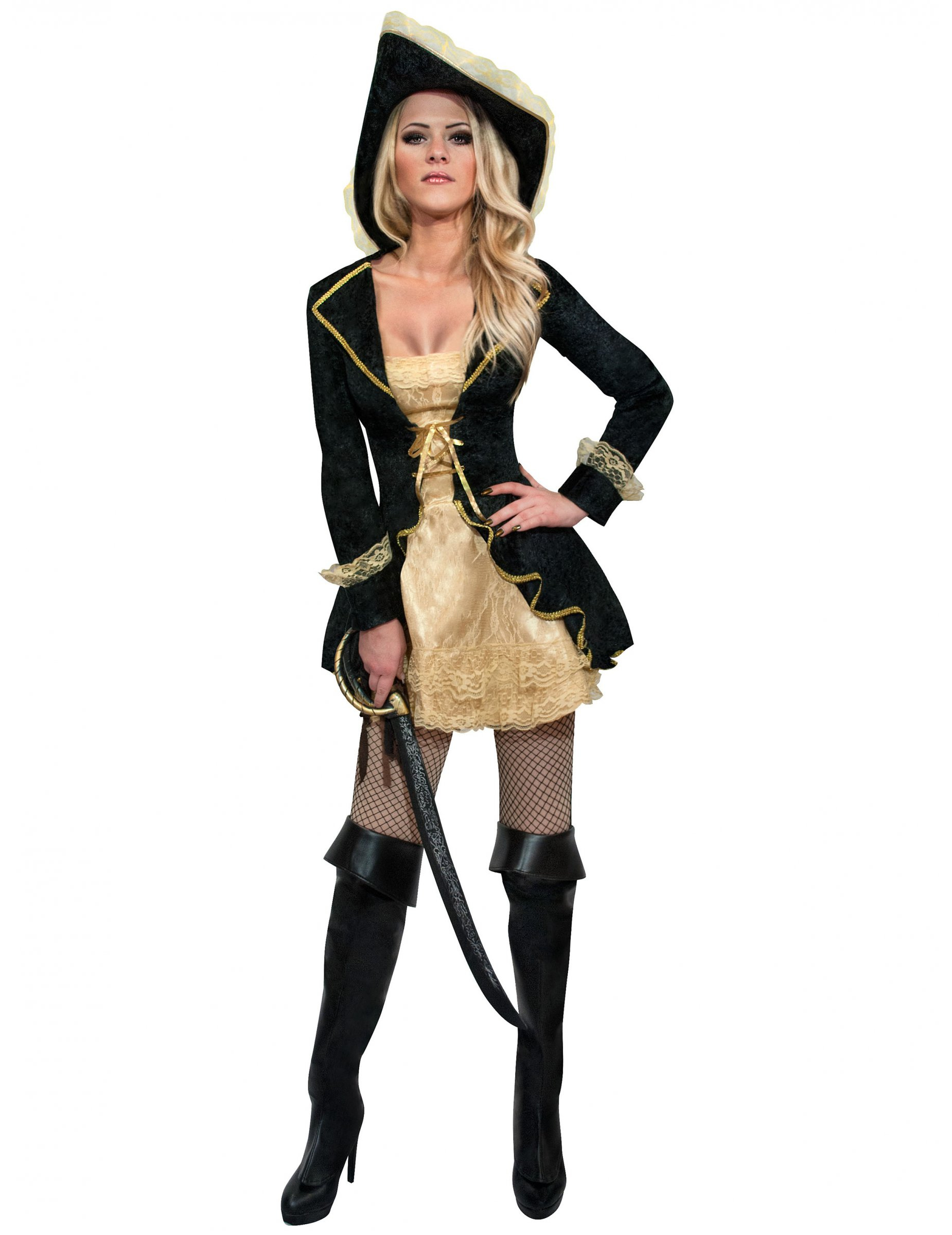 53d444b79b7 Elegant barok piraten kostuum voor vrouwen: Volwassenen kostuums,en ...