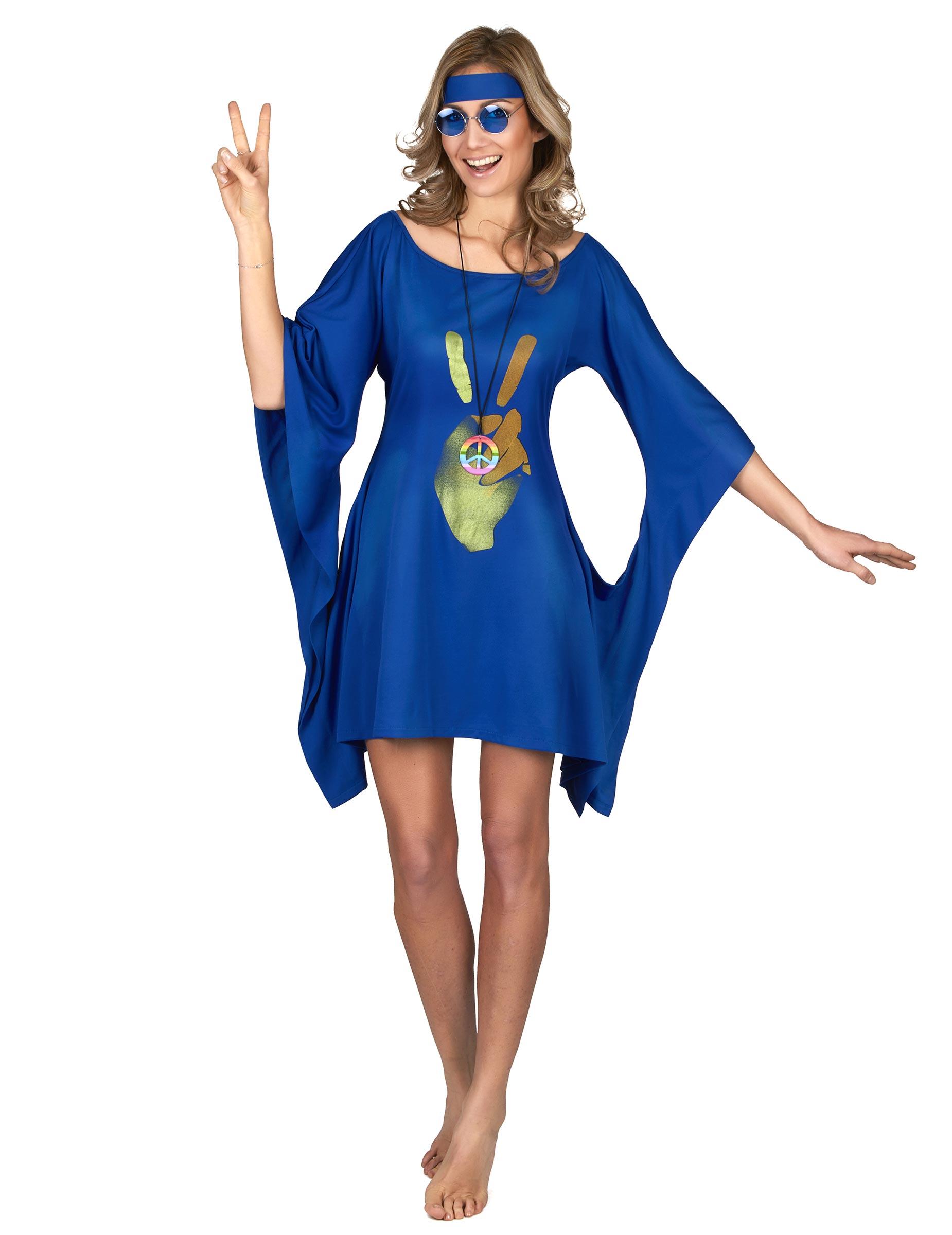 Hippie jurk lang