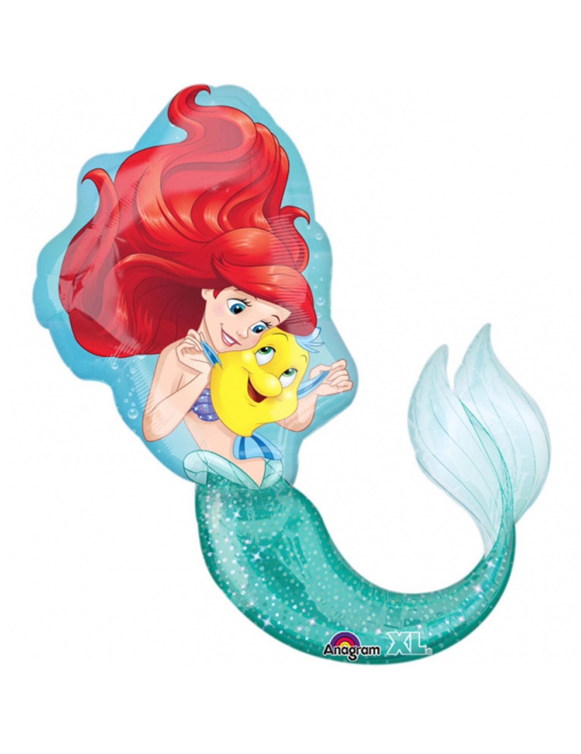 Reuze de kleine zeemeermin™ ballon cm decoratie en