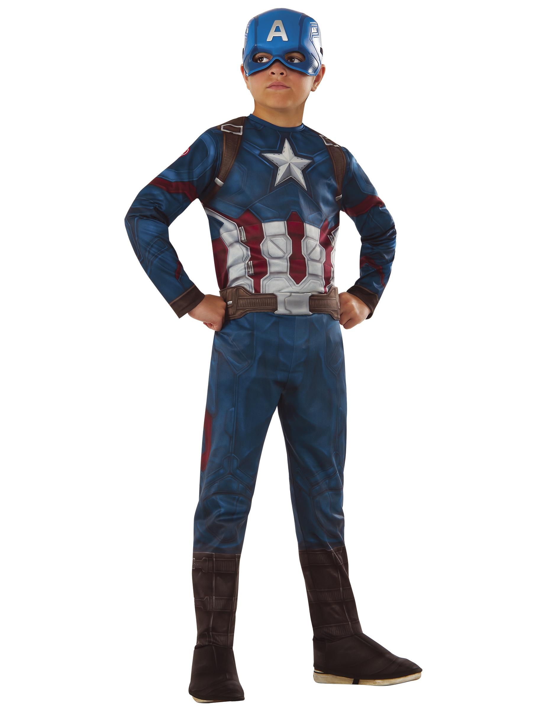 Verbazingwekkend Avengers Civil War™ Captain America™ pak voor jongens - Vegaoo.nl NN-75