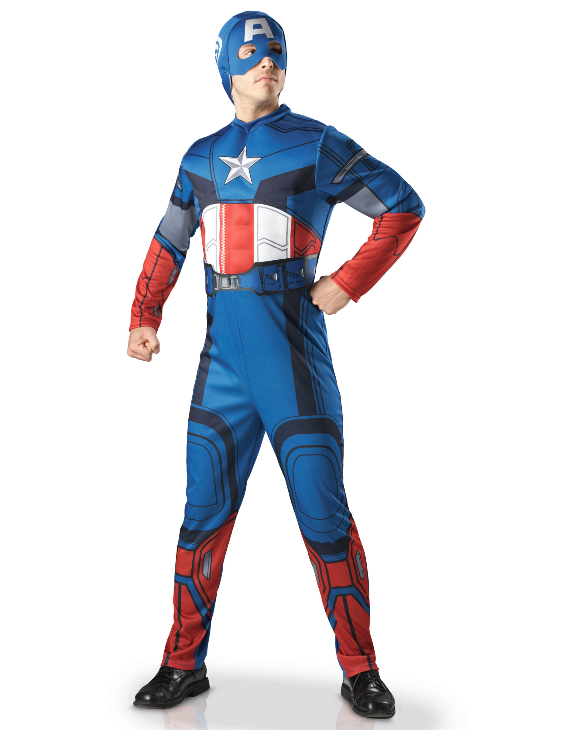 Spiksplinternieuw Deluxe Avengers Captain America™ pak voor mannen - Vegaoo.nl GK-04