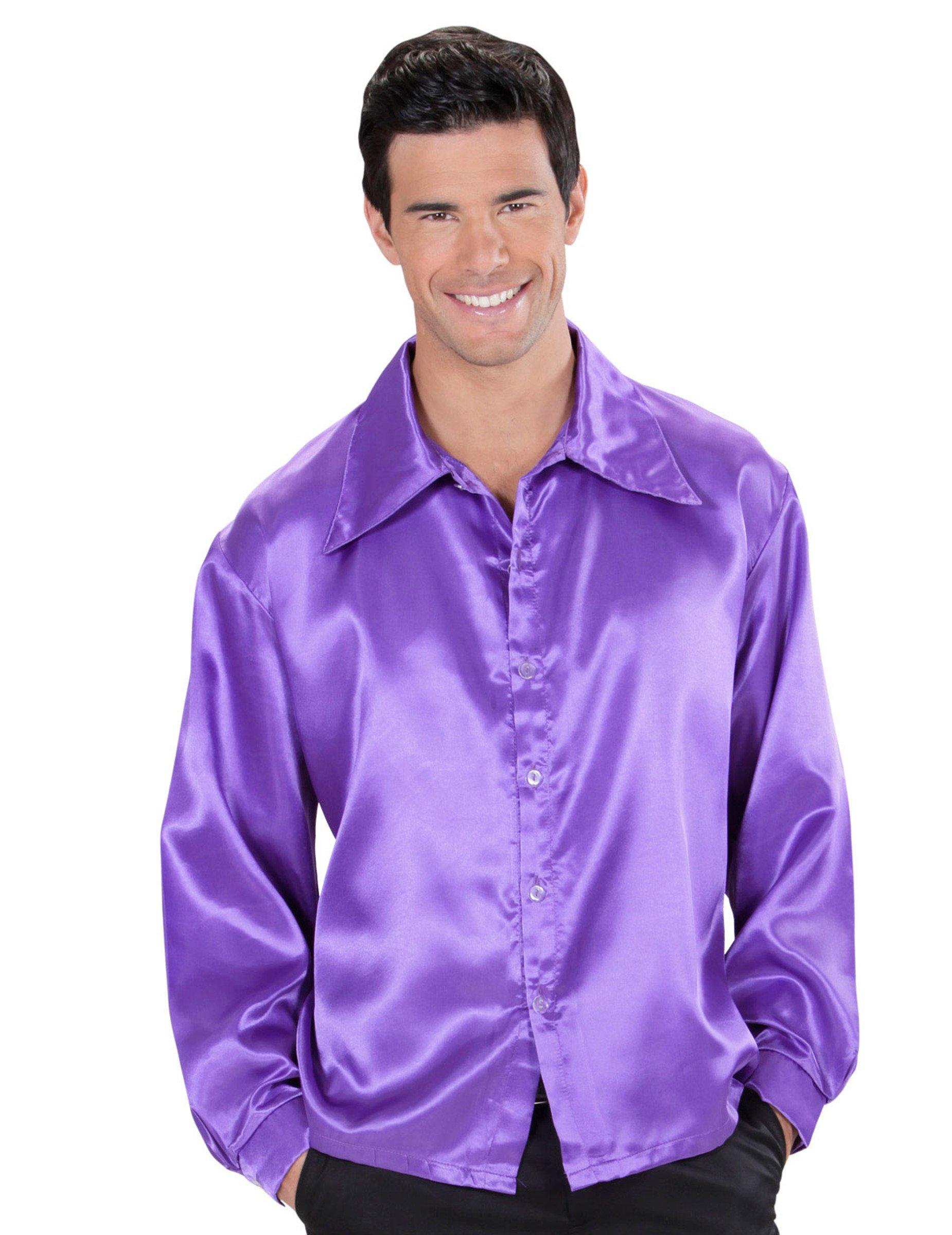 Purple Mens Dress Shirts