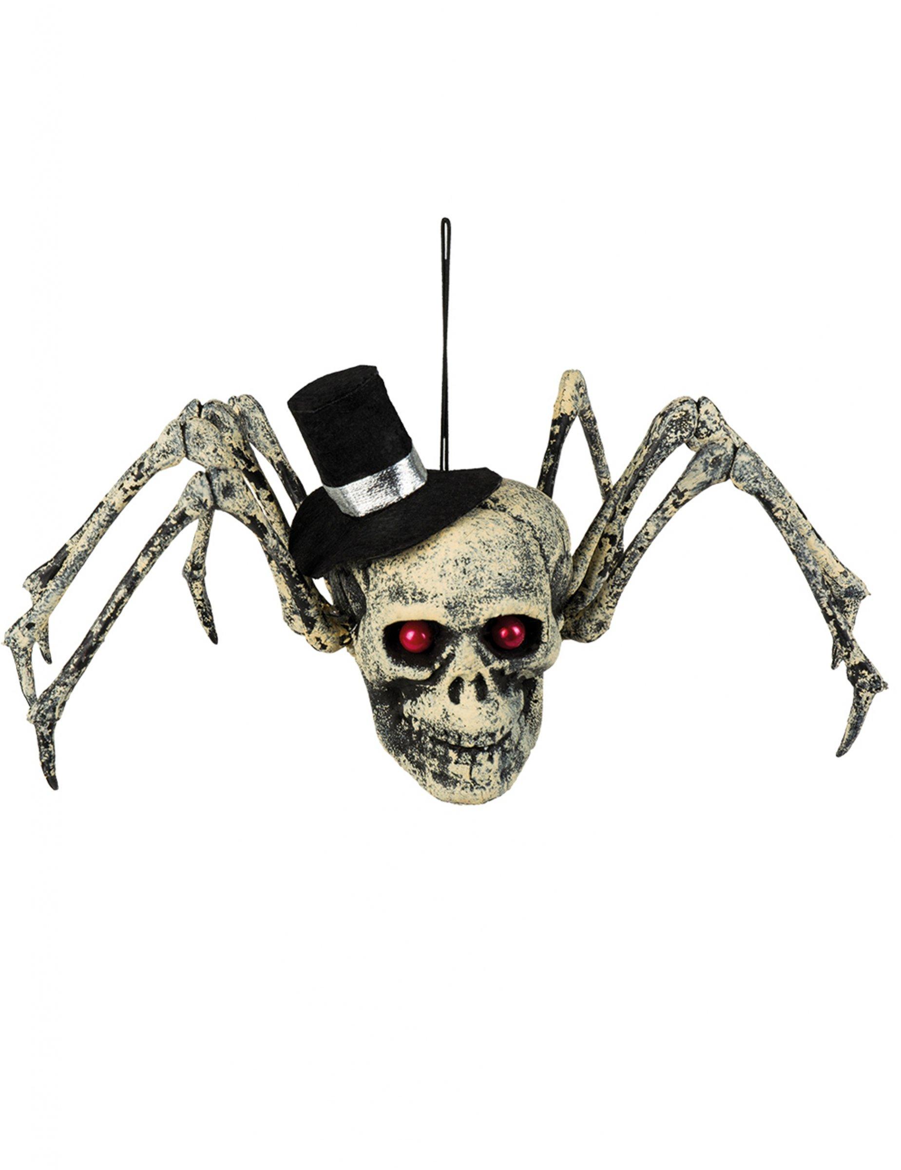 Skelet spin decoratie voor halloween decoratie en goedkope carnavalskleding vegaoo - Decoratie voor halloween is jezelf ...