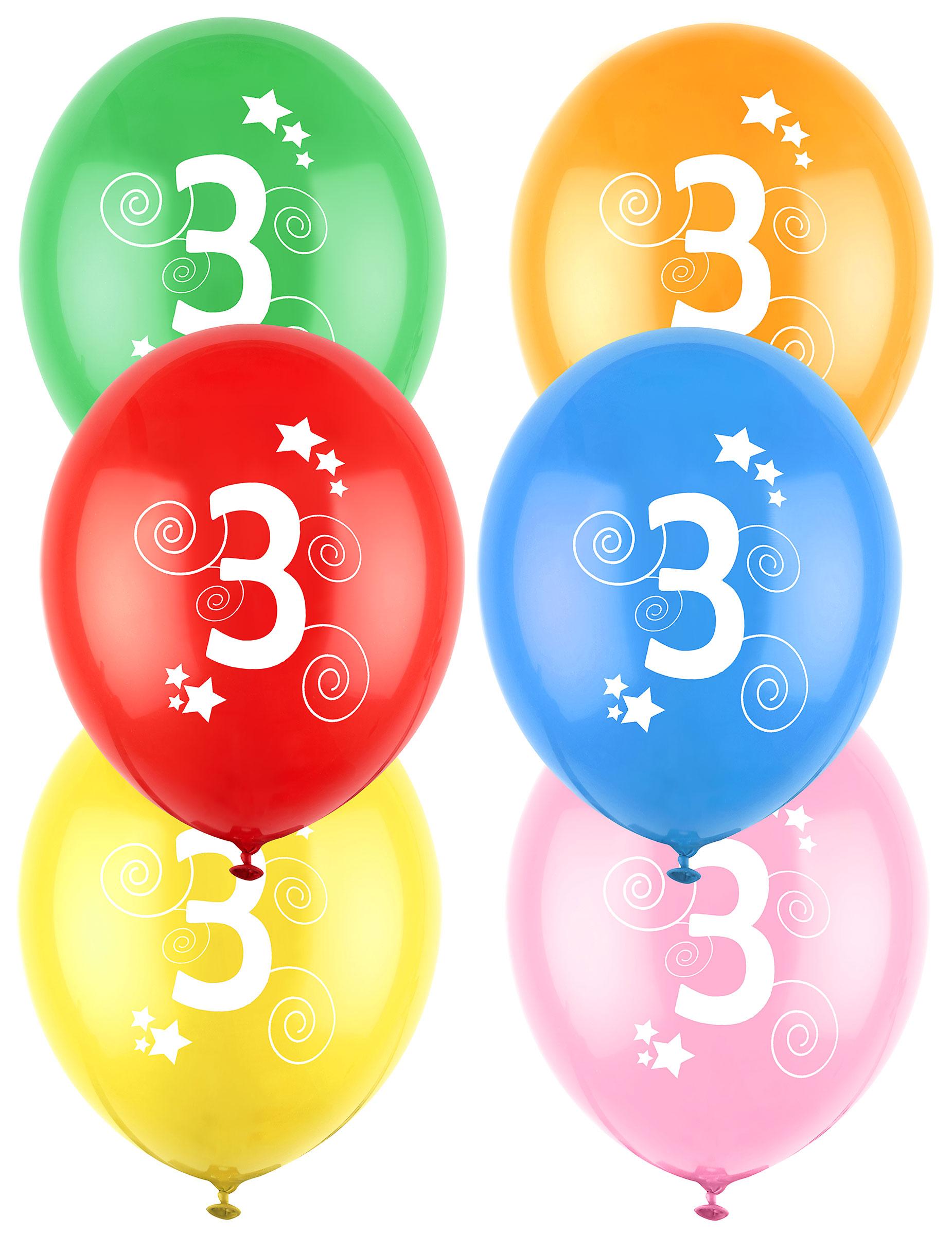 12 Verjaardag Ballonnen 3 Jaar Decoratie En Goedkope
