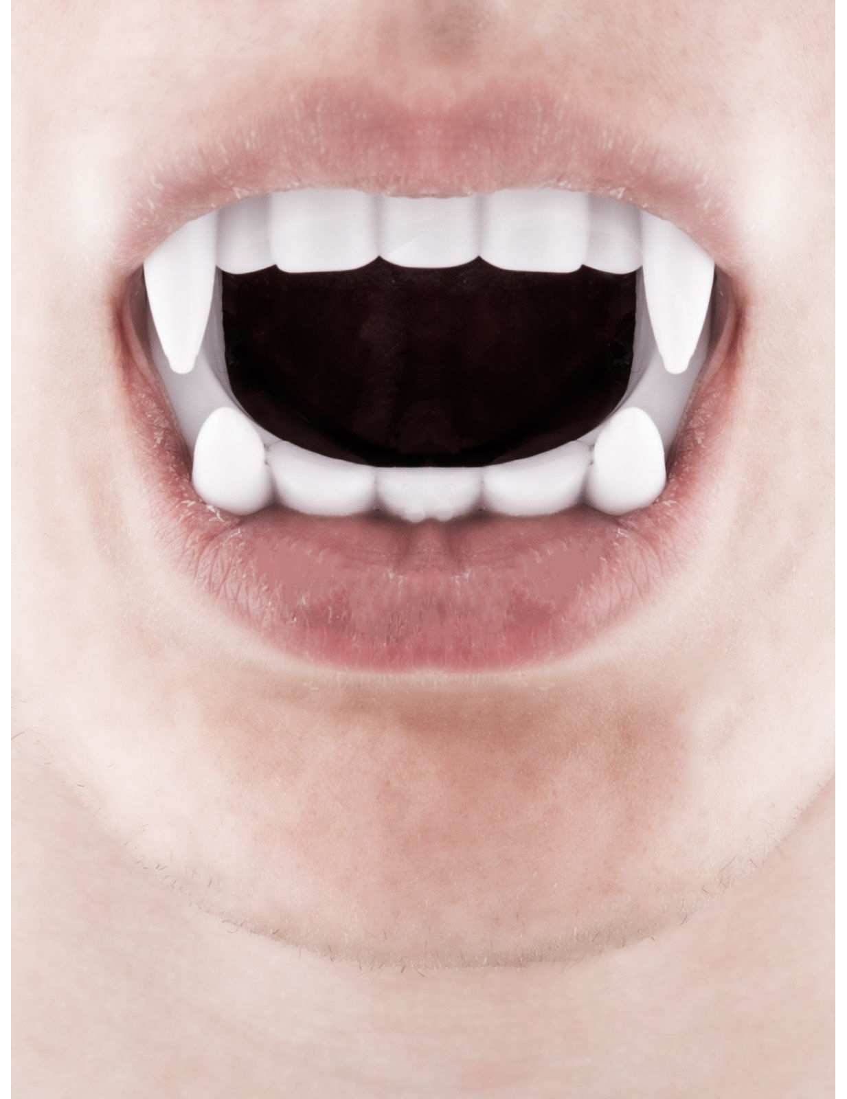 Voorkeur Witte vampier tanden: Accessoires,en goedkope carnavalskleding &GO61