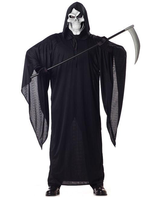 Grote Grim Reaper Outfit Voor Mannen Volwassenen Kostuumsen