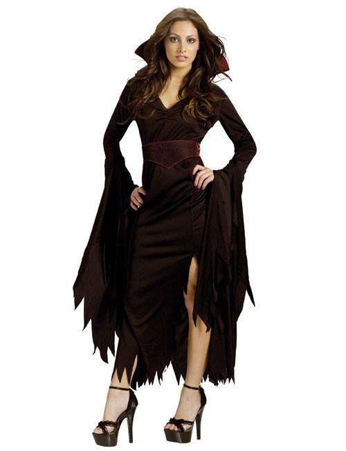 Gothic vampier kostuum voor vrouwen: Volwassenen kostuums,en