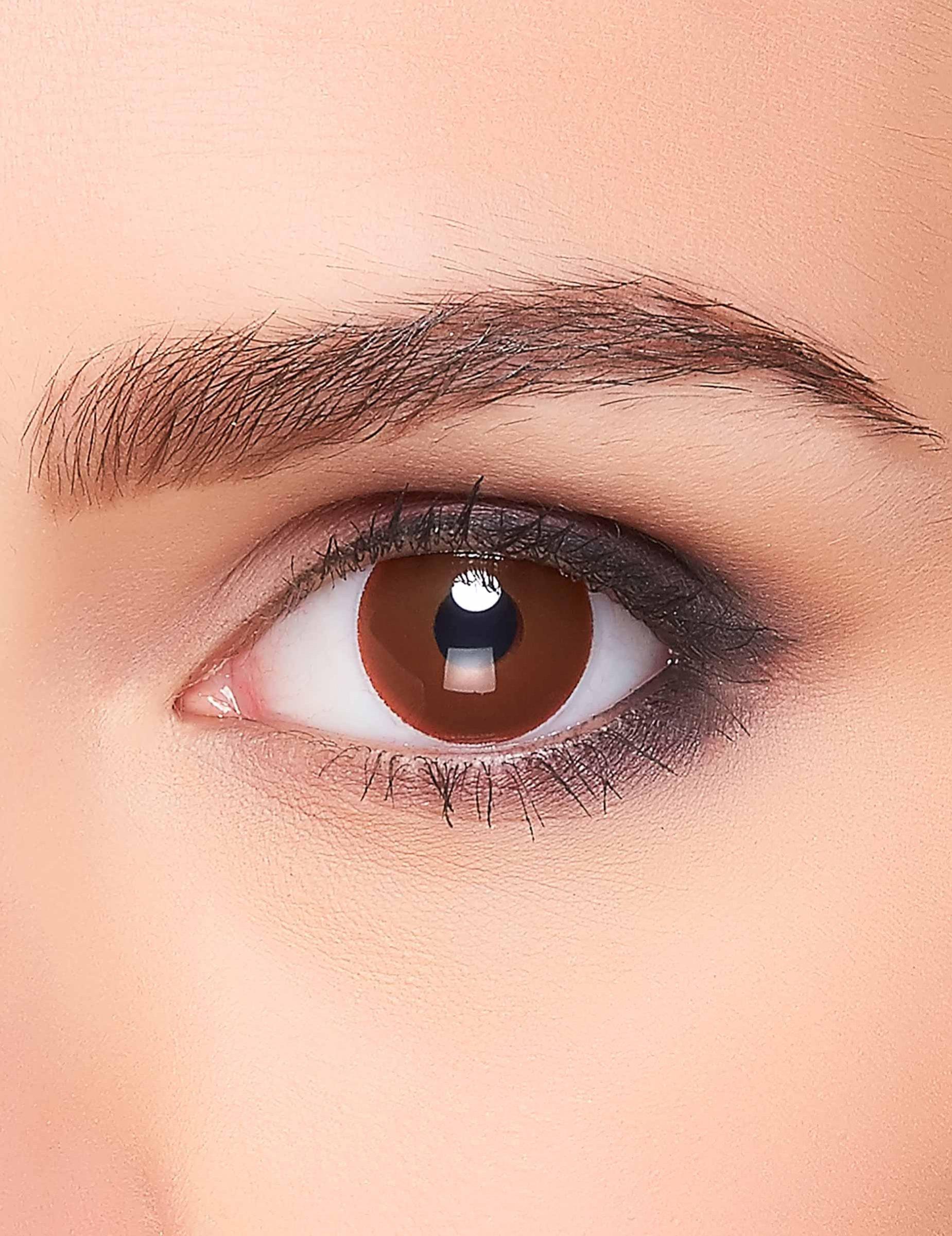 34bd285397abc8 Bruin oog lenzen  Schmink