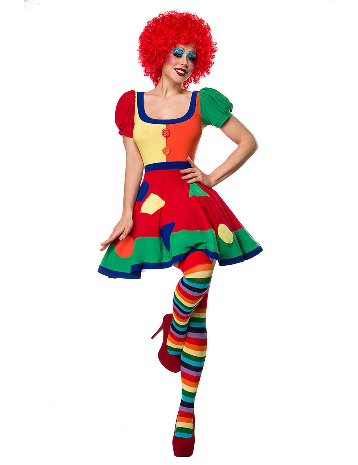 Carnavalskleding Dames Clown.Circus Clown Kostuum Voor Dames Volwassenen Kostuums En Goedkope