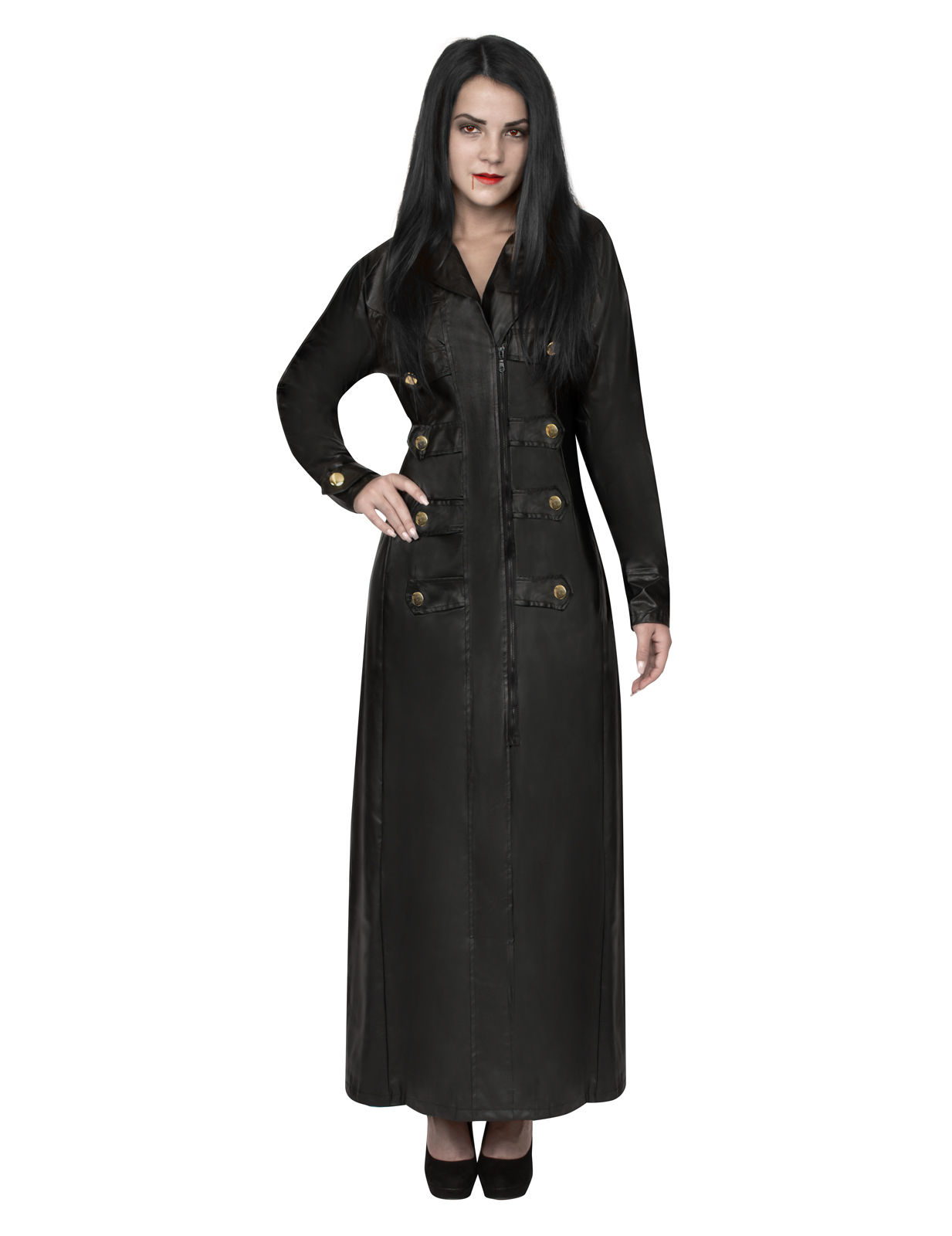 Vampier gothic jas voor vrouwen