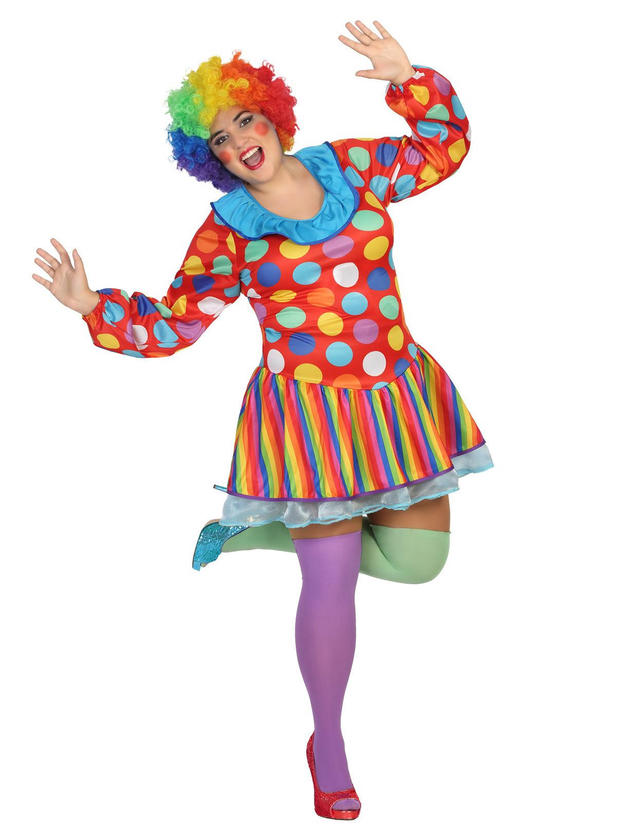 Carnavalskleding Dames Clown.Clownspak Voor Dames Volwassenen Kostuums En Goedkope