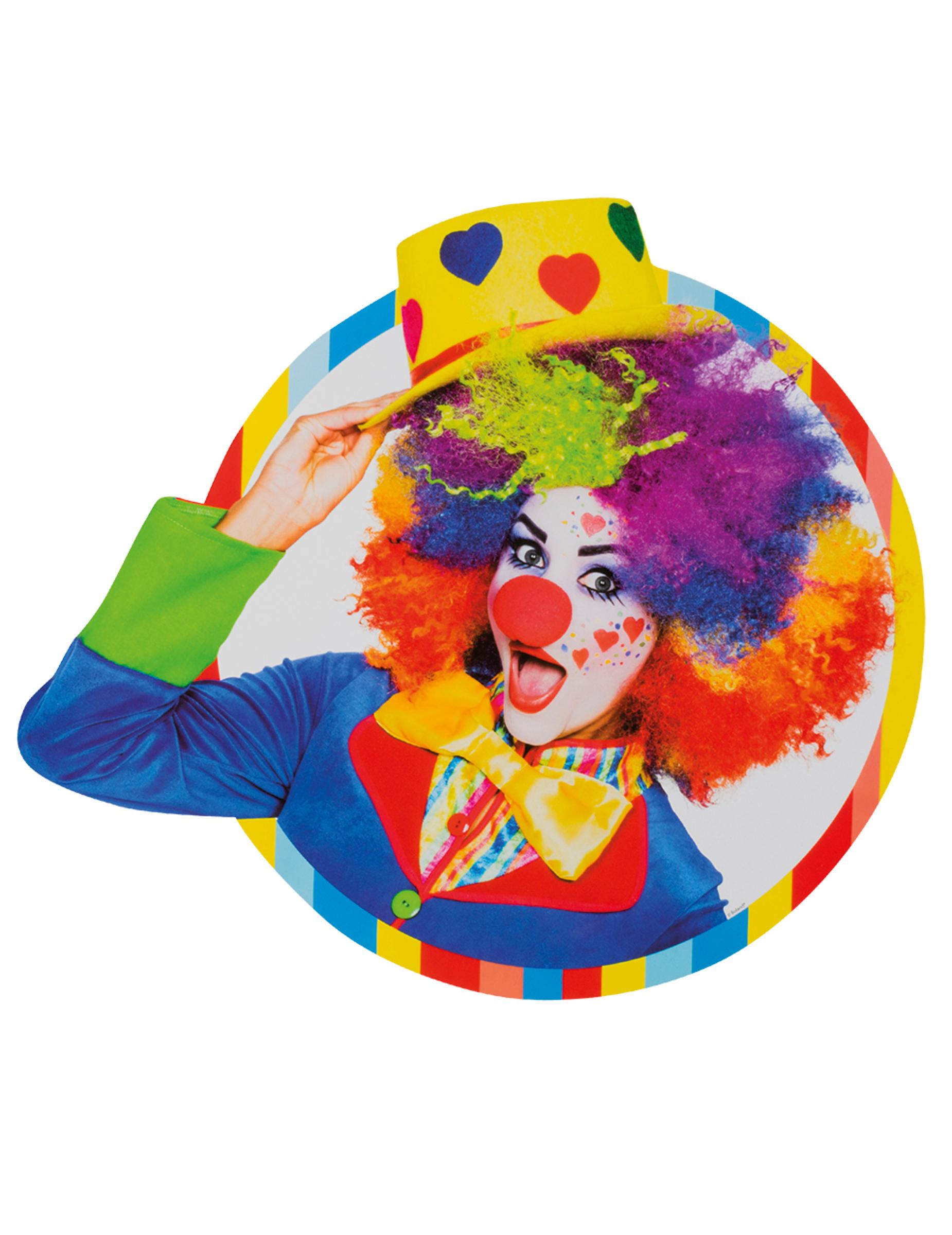 Circus clown decoratie decoratie en goedkope for Goedkope decoratie