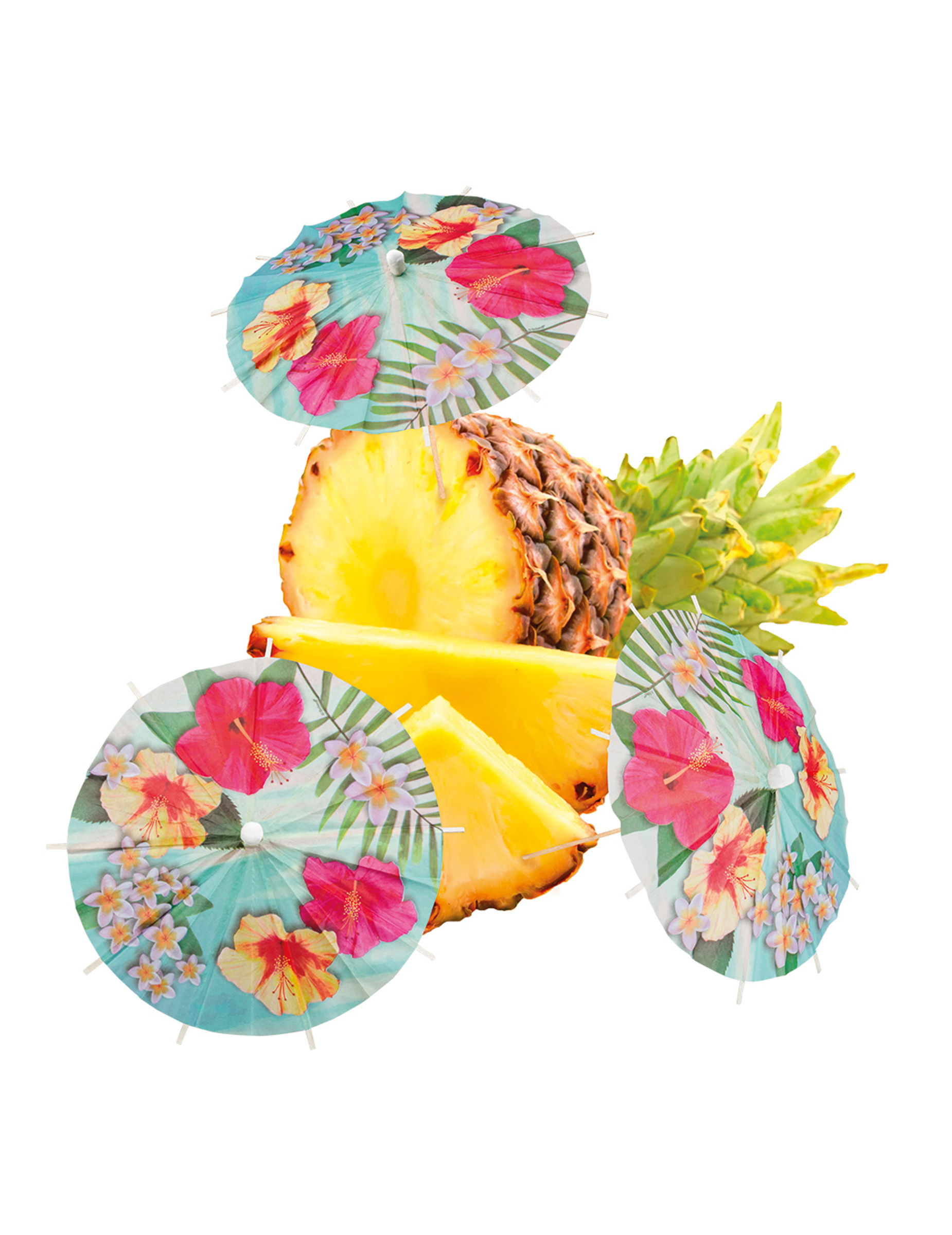 6 Parasol Cocktailprikkers Hawaii Party Decoratie En Goedkope