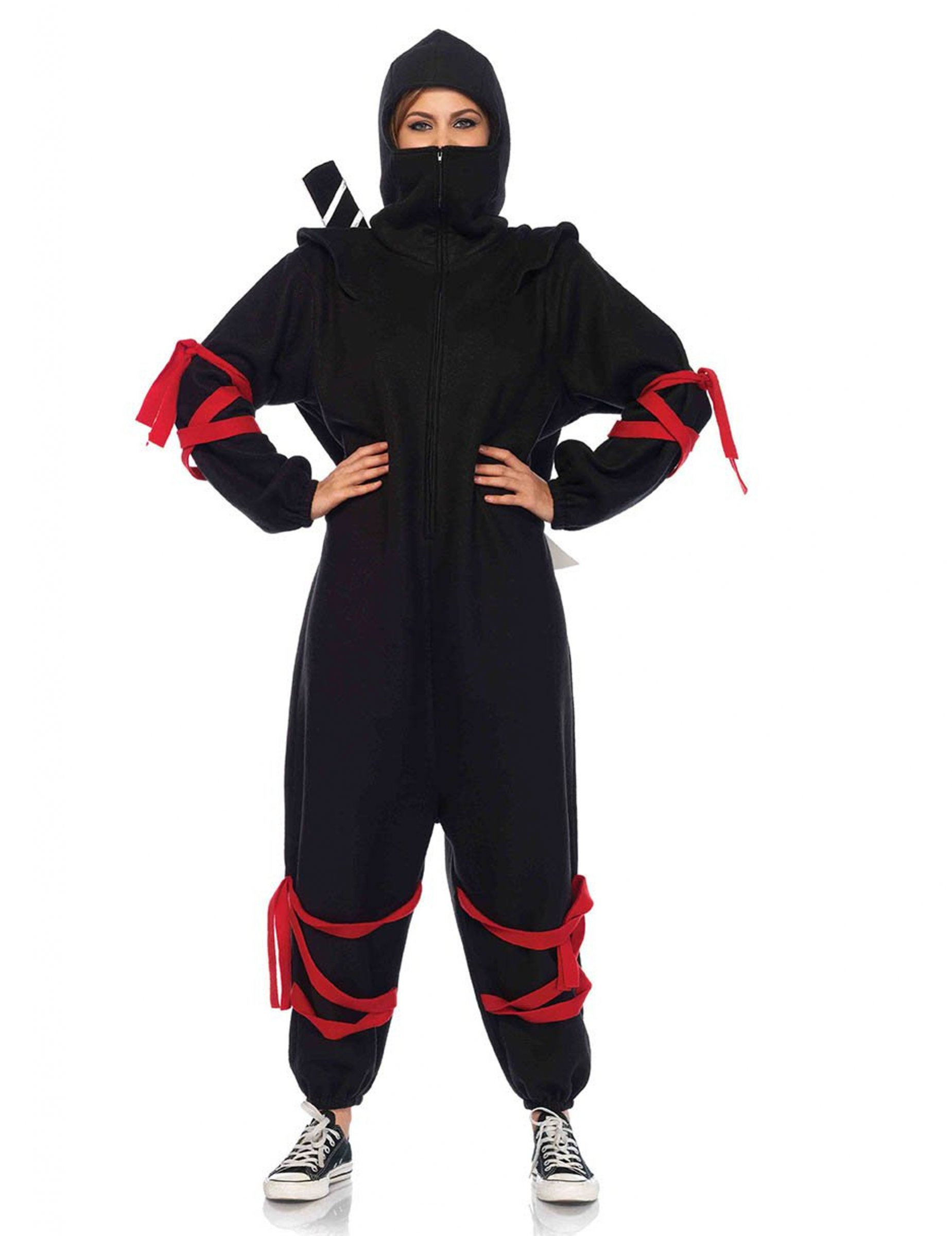 Carnavalskleding Dames Ninja.Ninja Onesie Voor Vrouwen Volwassenen Kostuums En Goedkope