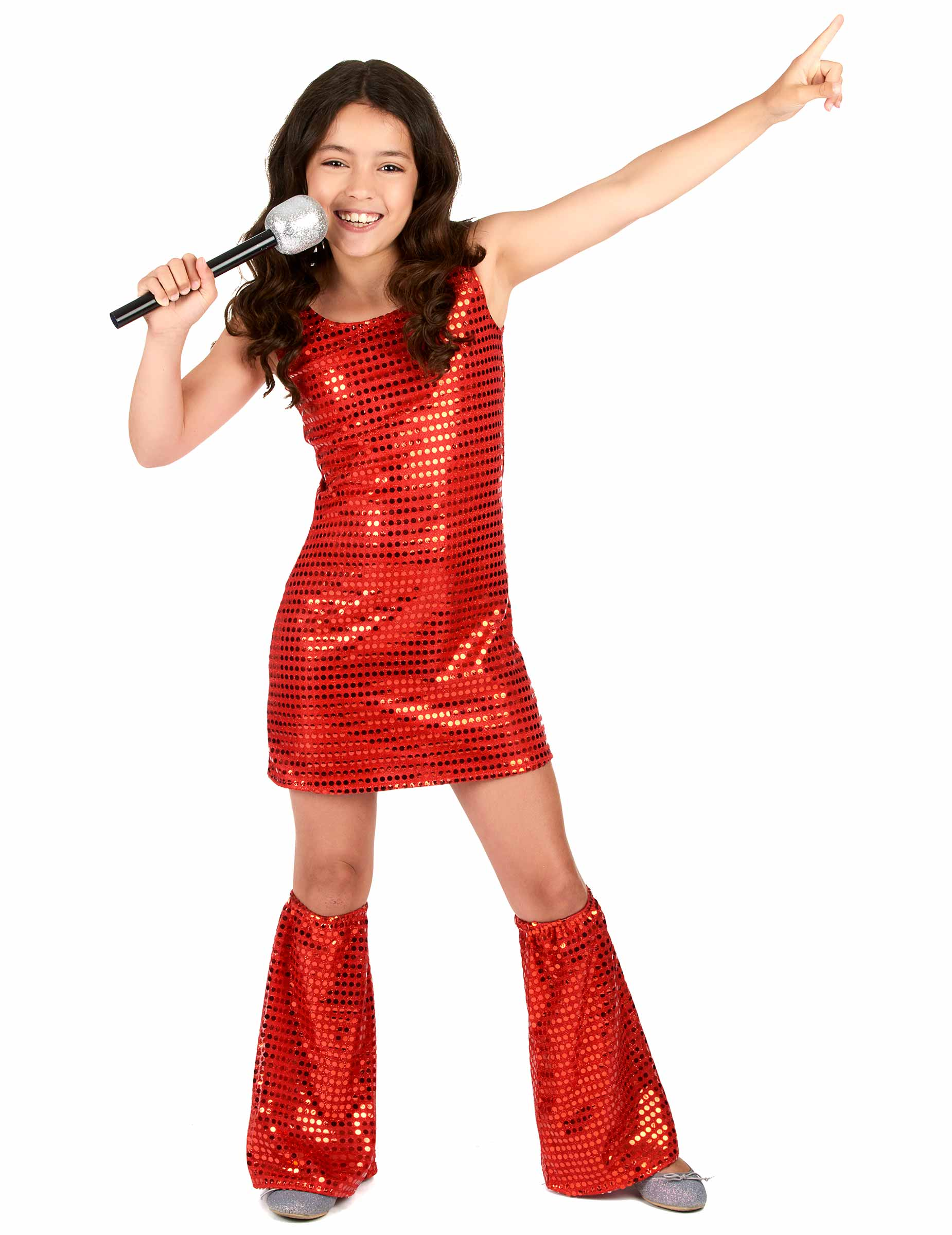 ecce538d5d7615 Glinsterende en feestelijke disco kleding voor kinderen - Vegaoo.nl