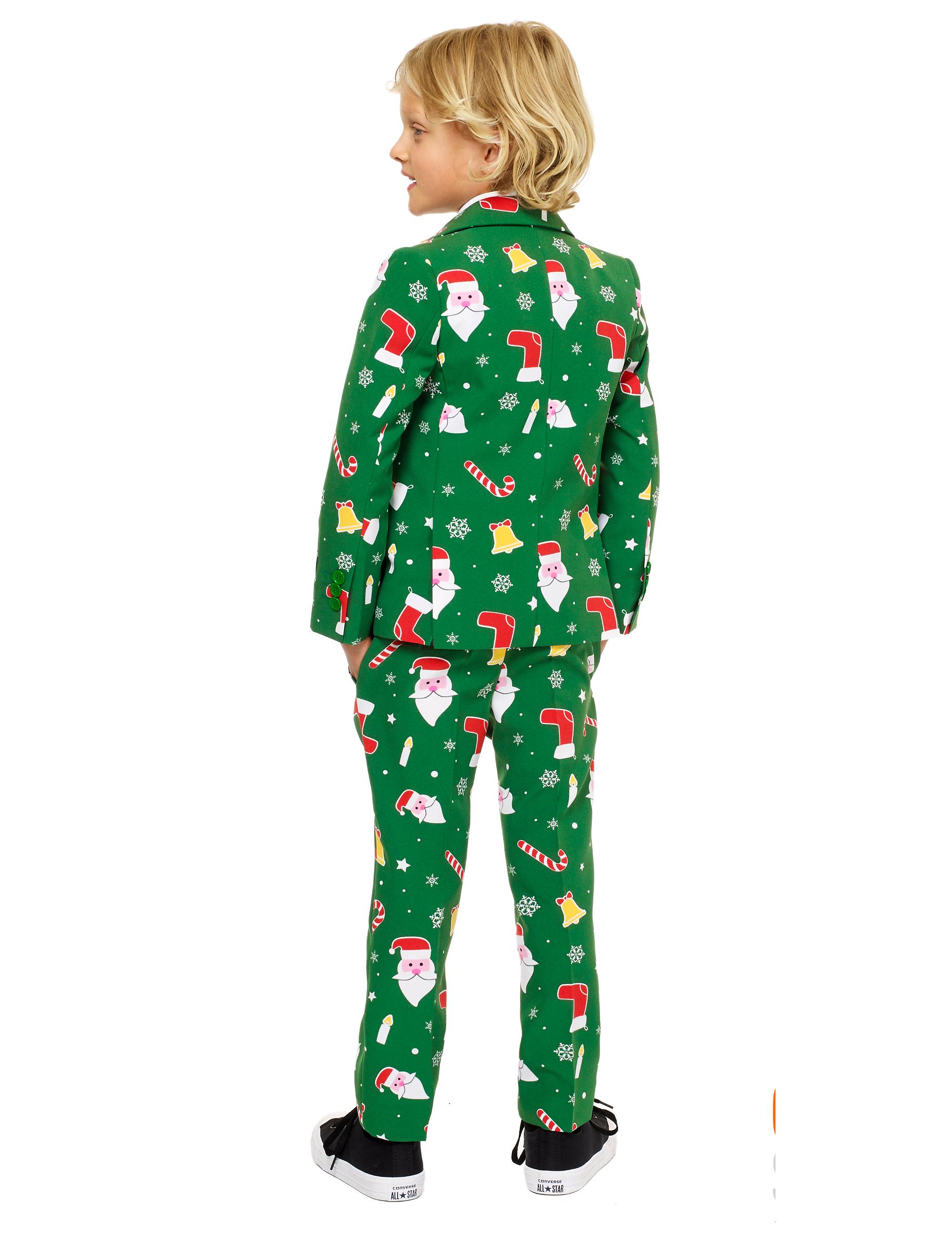 Mr Santaboss Opposuits Kerstkostuum Voor Kinderen Kinderkostuums