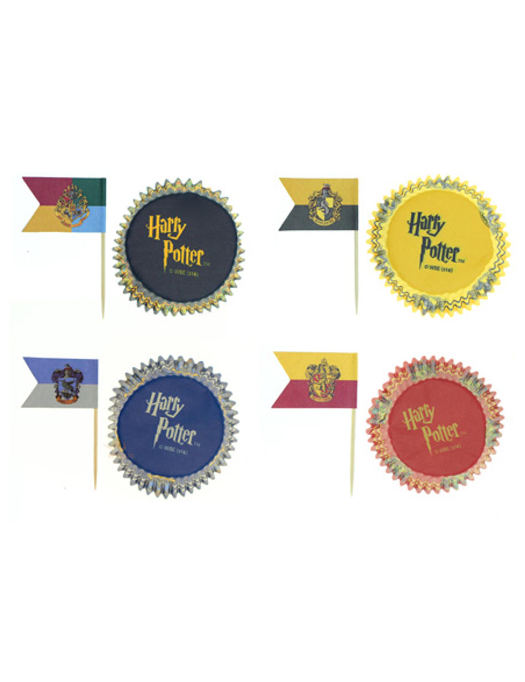 Favoriete Set van 100 Harry Potter™ cupcake decoraties: Decoratie,en #DO87
