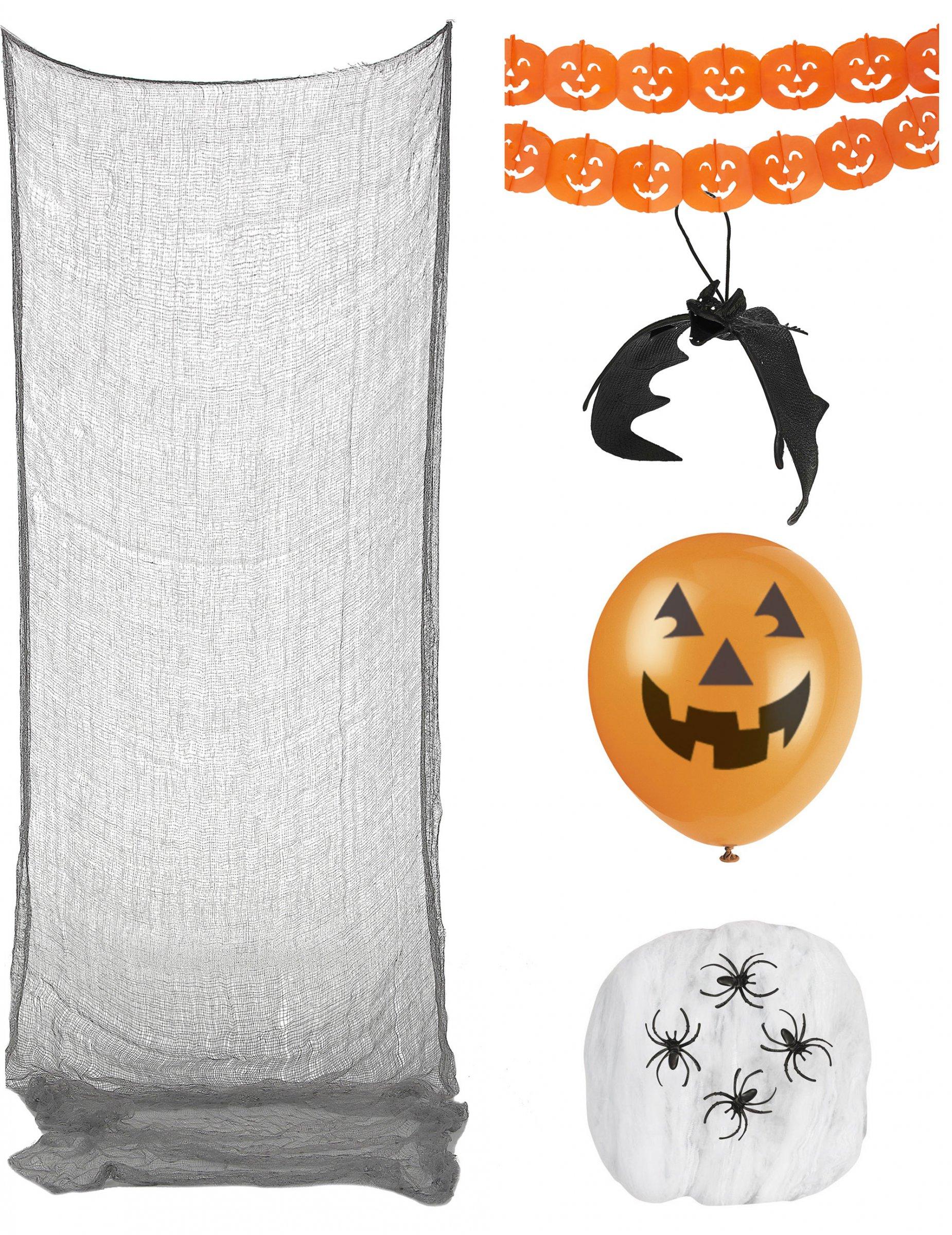 Halloween decoratie pack decoratie en goedkope for Goedkope decoratie