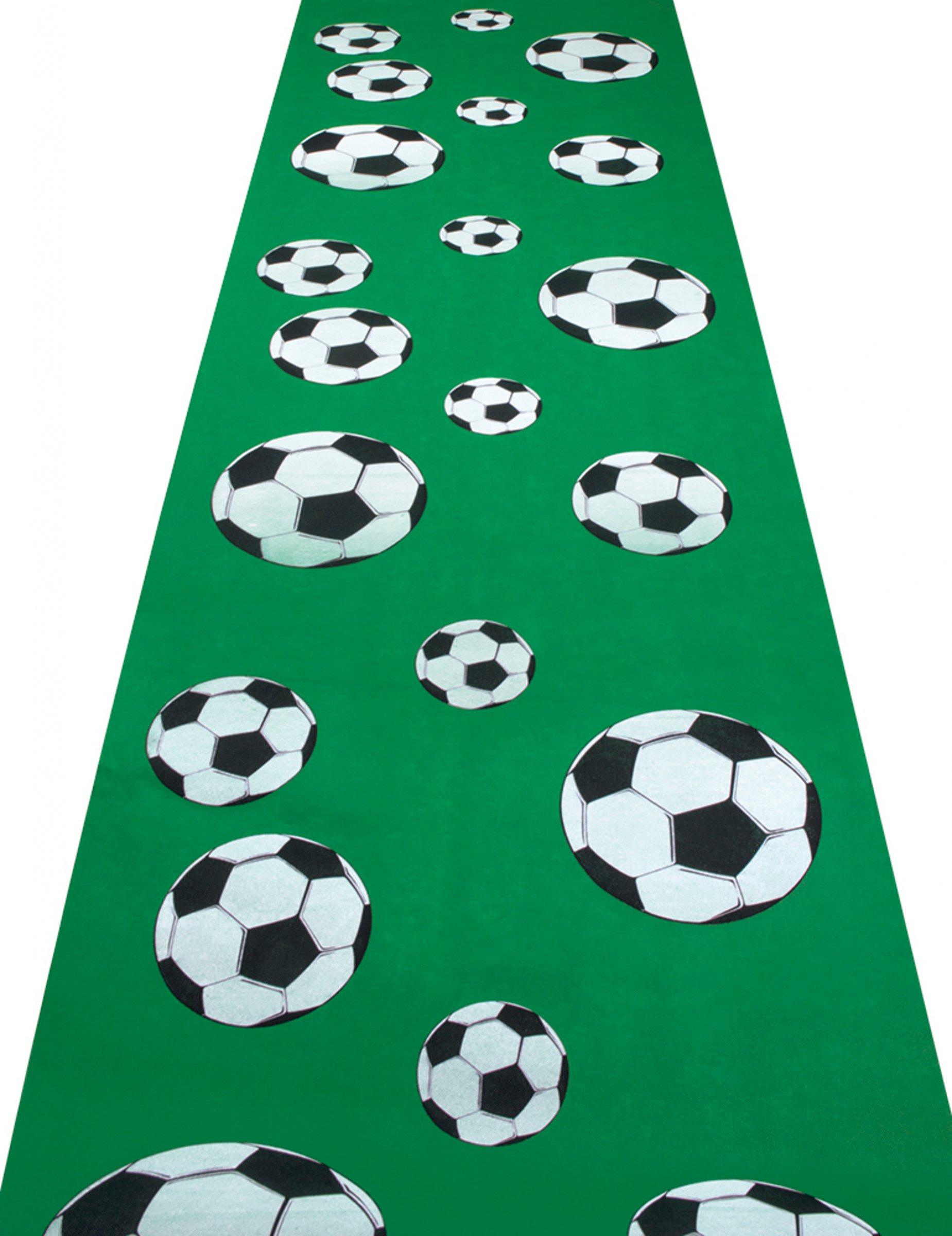 Ongebruikt Voetbal tapijt: Decoratie,en goedkope carnavalskleding - Vegaoo MU-46