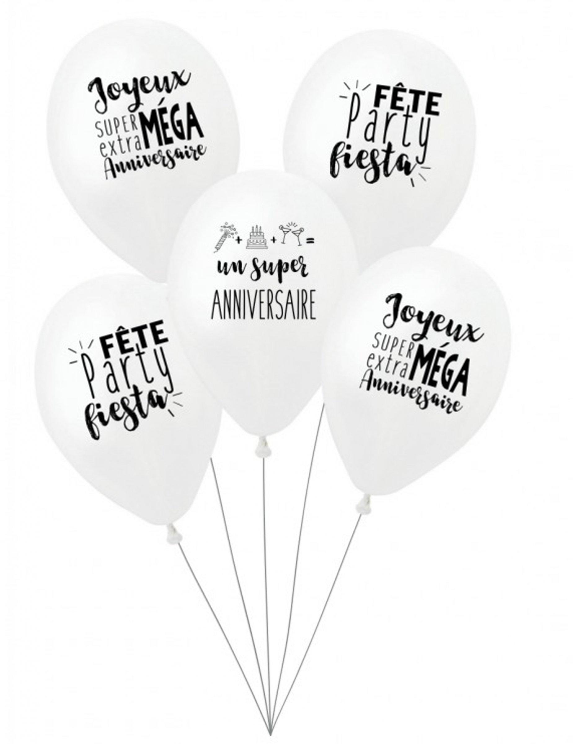 5 Latex Super Verjaardag Ballonnen Decoratie En Goedkope