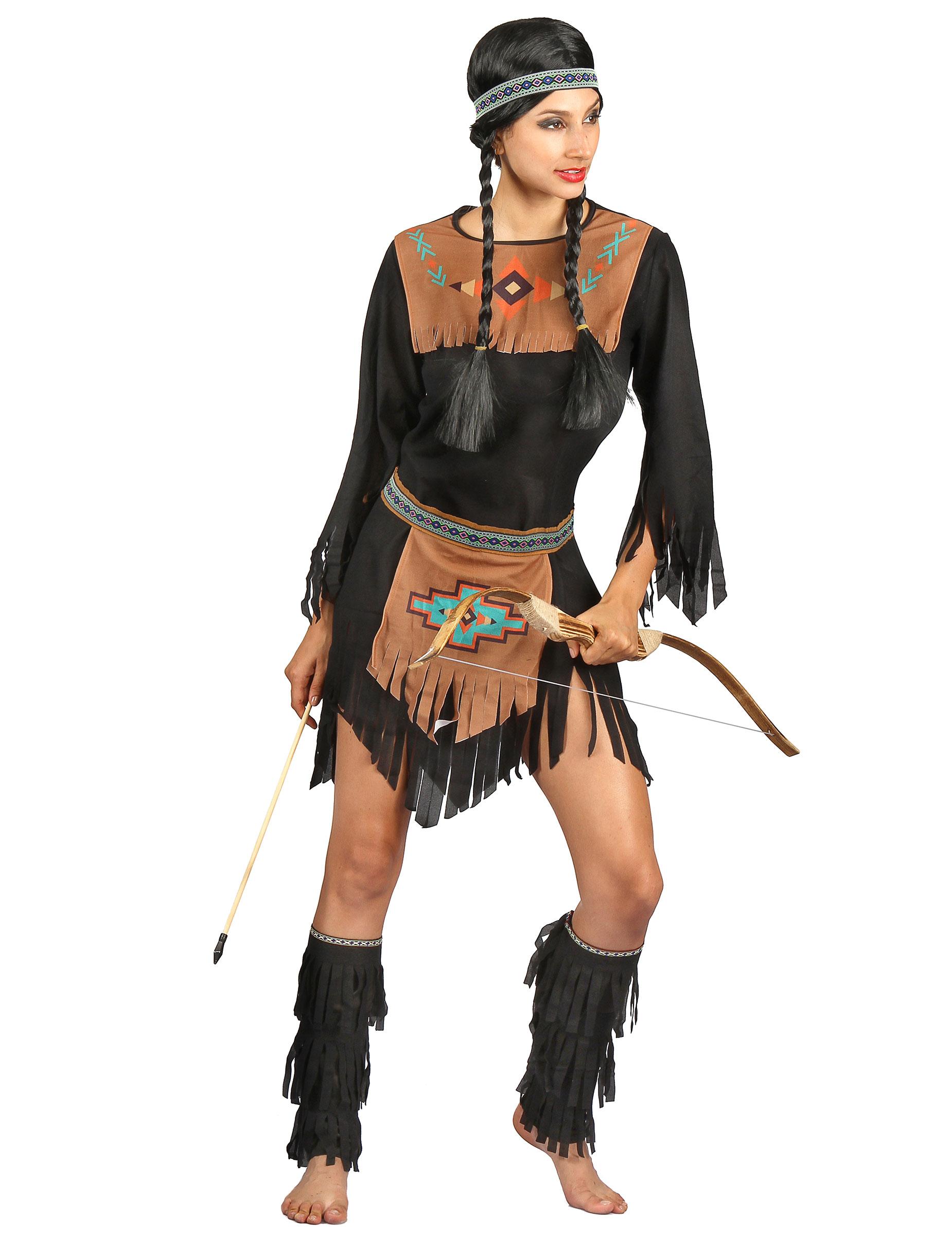 Carnavalskleding Dames Indiaan.Indiaan Kostuum Voor Vrouwen Volwassenen Kostuums En Goedkope