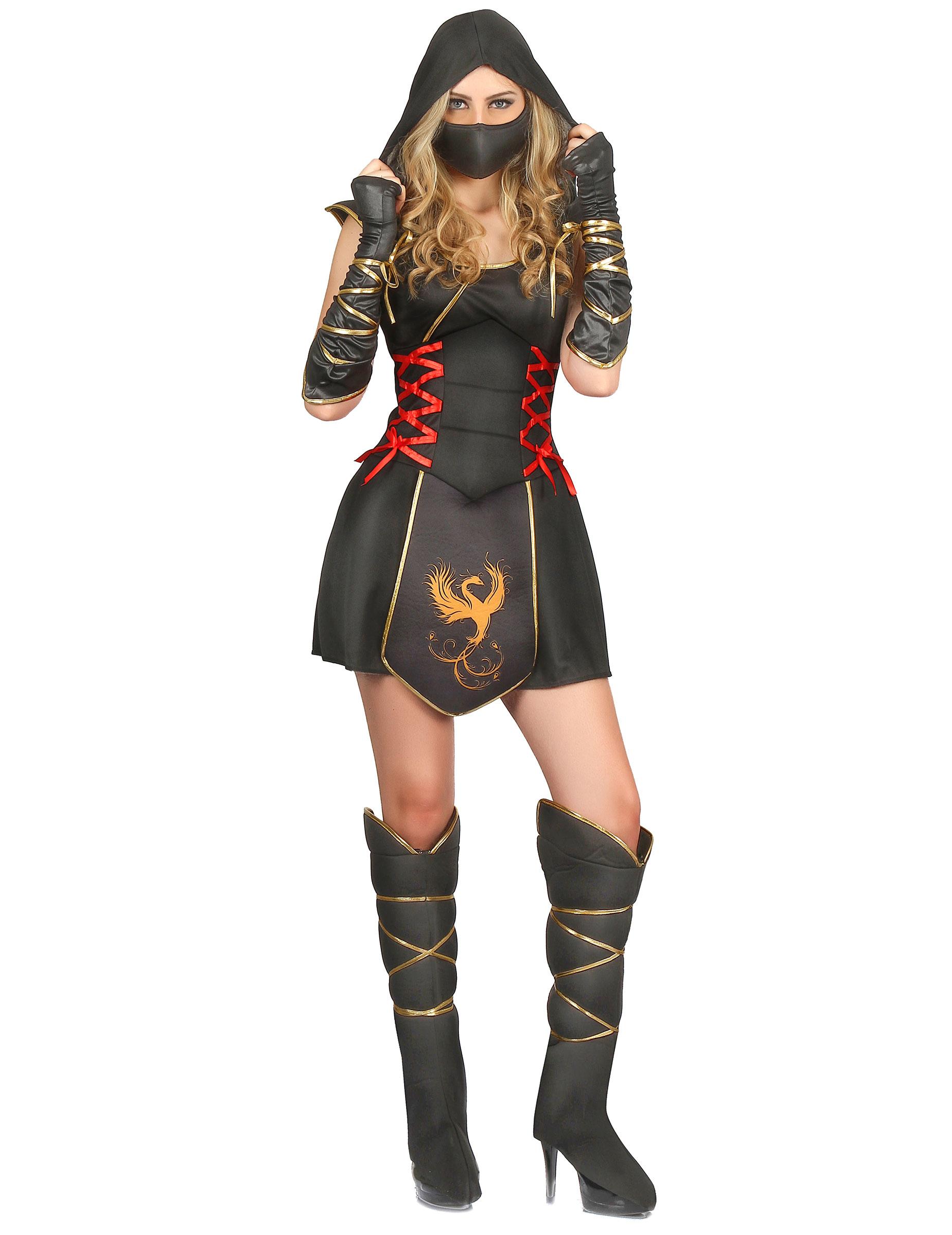 Carnavalskleding Dames Ninja.Ninja Kostuum Voor Dames Volwassenen Kostuums En Goedkope