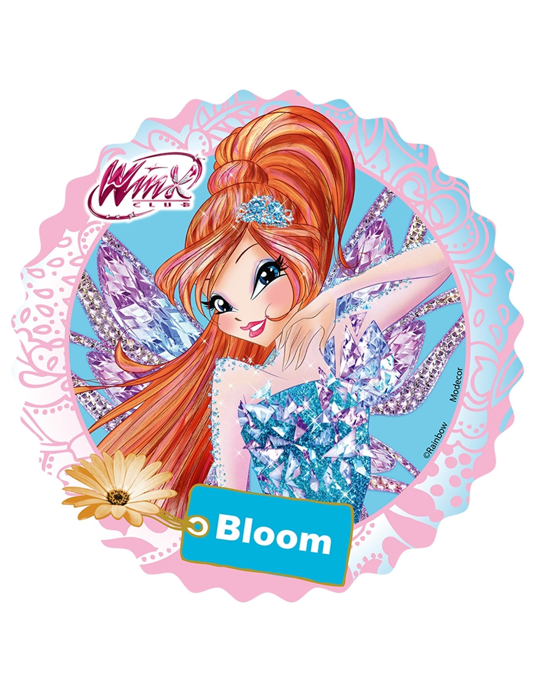 Eetbare Winx Bloom Schijf Decoratieen Goedkope Carnavalskleding