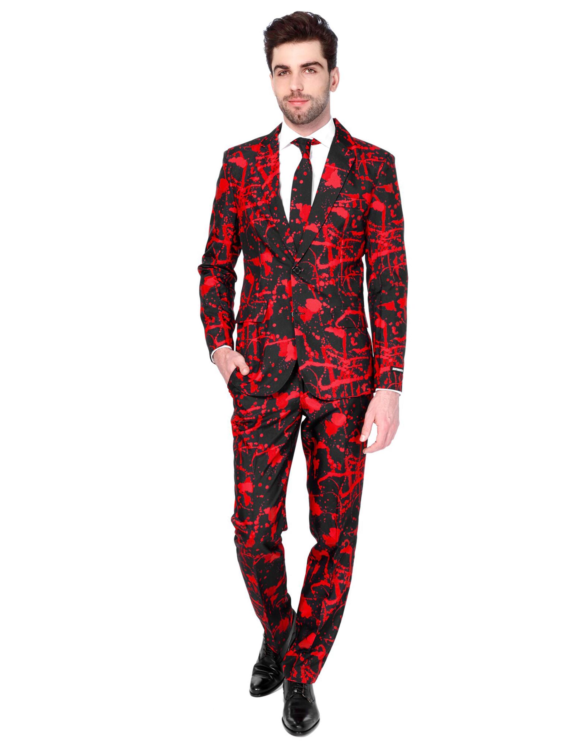 63652674497fa9 Mr. Black Blood Suitmeister™ kostuum voor mannen: Volwassenen ...