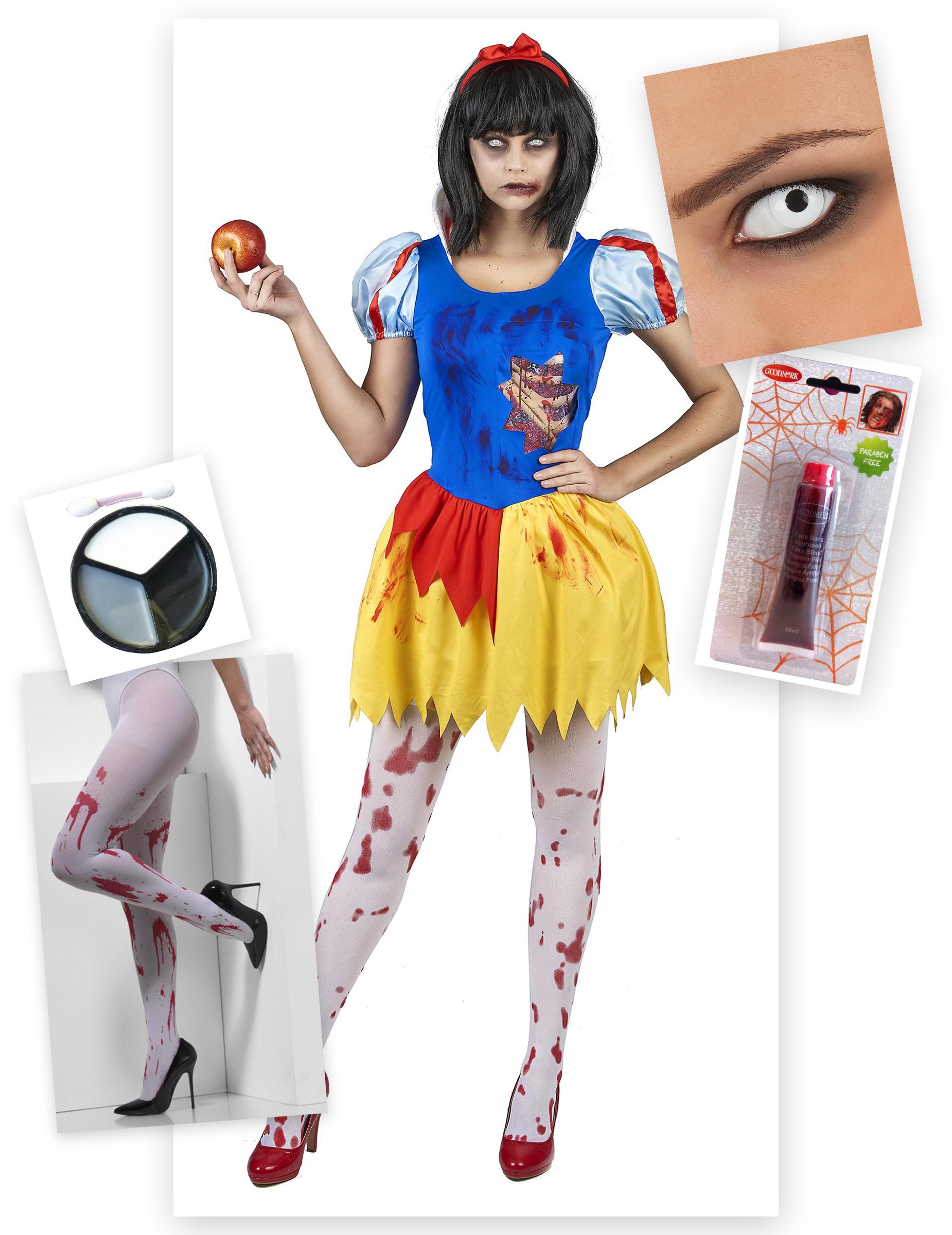 Halloween Kostuum.Pack Sneeuwitje Zombie Halloween Kostuum Volwassenen