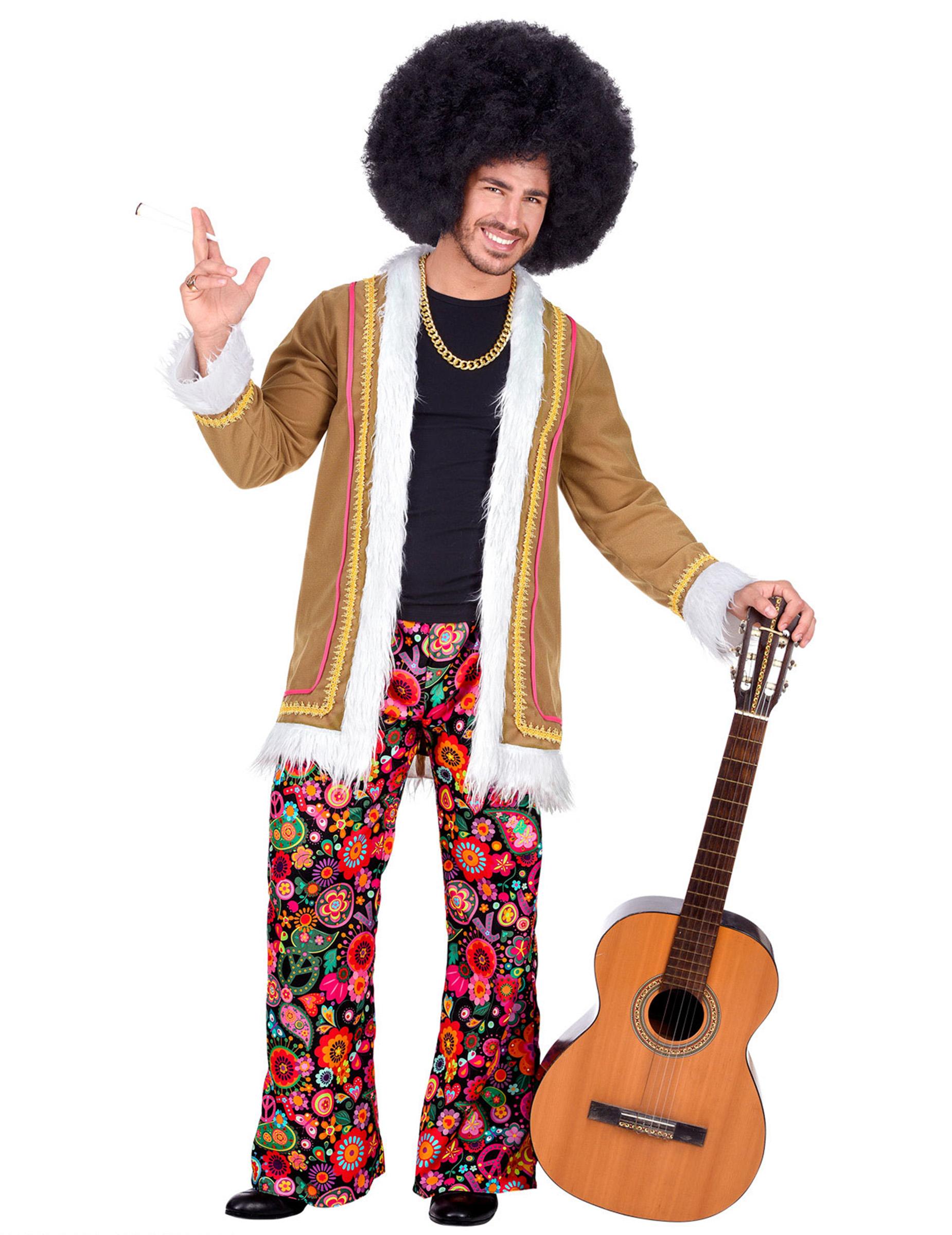 Hippie broek heren woodstock