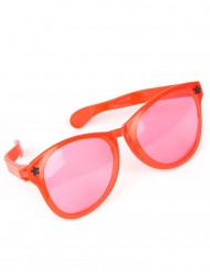 Rode reuze bril voor volwassenen