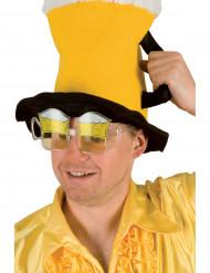 Bierglasbril voor volwassen supporters