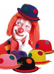 Clownshoed met bolletjes voor volwassenen