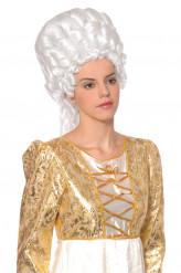 Witte Marie-Antoinette pruik voor dames