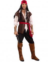 Stijlvol piraten kostuum voor volwassenen