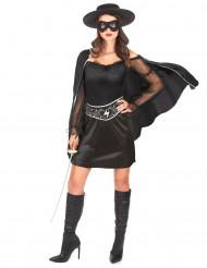 Musketier kostuum voor dames