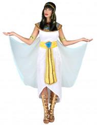 Egyptische koningin outfit met sluier voor vrouwen