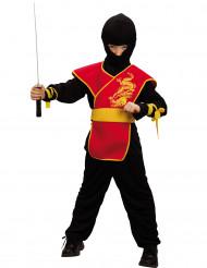 Draak ninjakostuum voor jongens