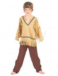Indianen pak met patroon voor jongens