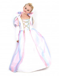 Fluweelachtig roze prinsessen kostuum voor meisjes