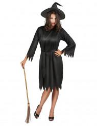 Miss Black toverheksen outfit voor vrouwen