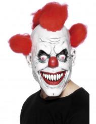Angstaanjagend clownsmasker voor volwassenen