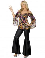 Johanna hippiekostuum voor vrouwen